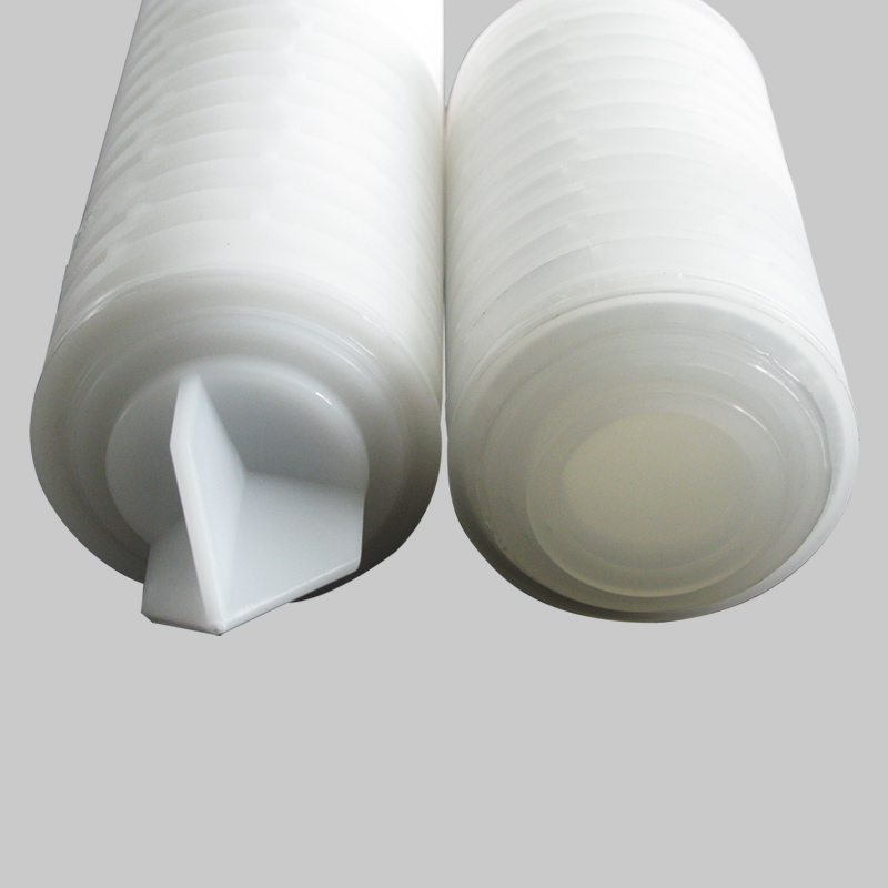YTPTFE Series - Hydrophobic Polytetrafluoroethylene(PTFE) Pleated Filter Cartridge