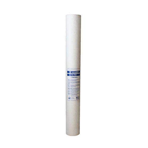 Melt-blown filter cartridge